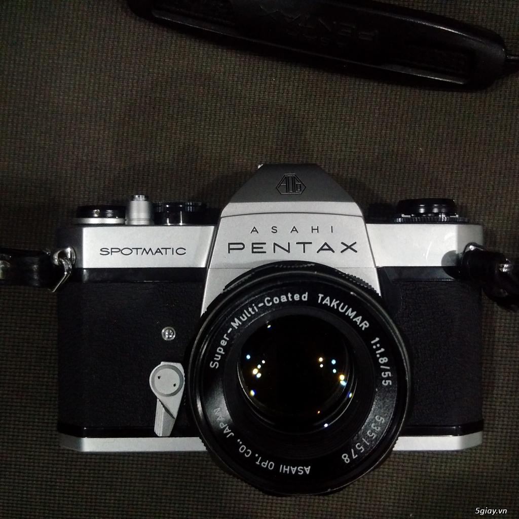 Bán một vài máy ảnh Film sưu tầm :Pentax spotmatic ,Yashica Electro 35cc,Retinette 1A Kodak - 2