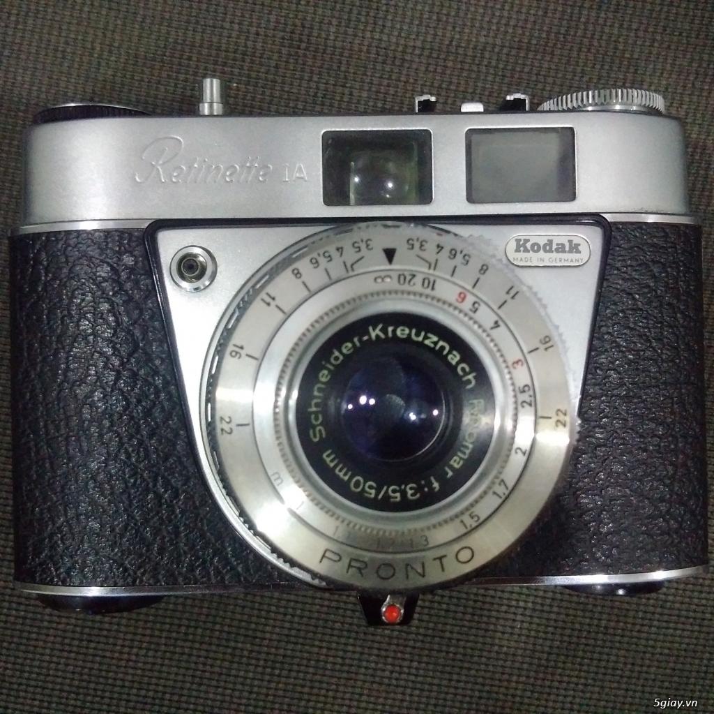 Bán một vài máy ảnh Film sưu tầm :Pentax spotmatic ,Yashica Electro 35cc,Retinette 1A Kodak - 11