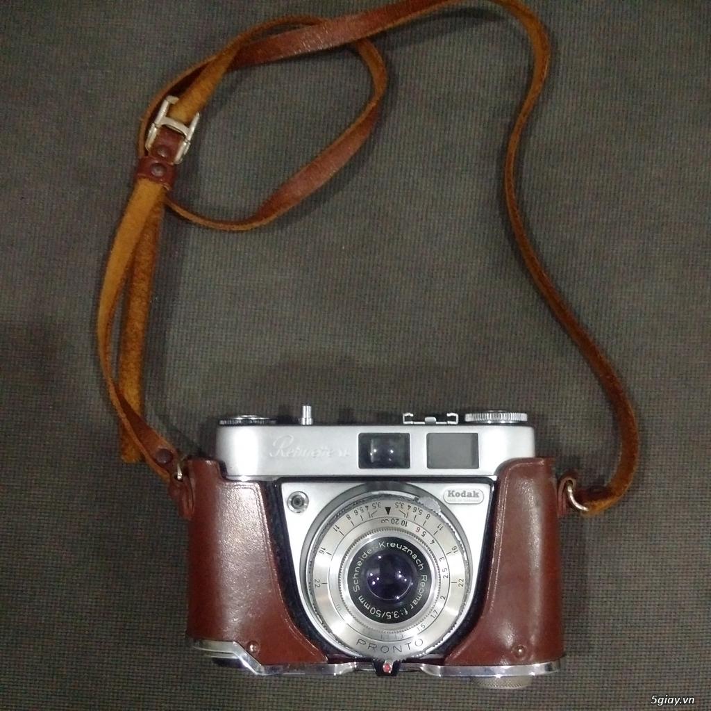 Bán một vài máy ảnh Film sưu tầm :Pentax spotmatic ,Yashica Electro 35cc,Retinette 1A Kodak - 10