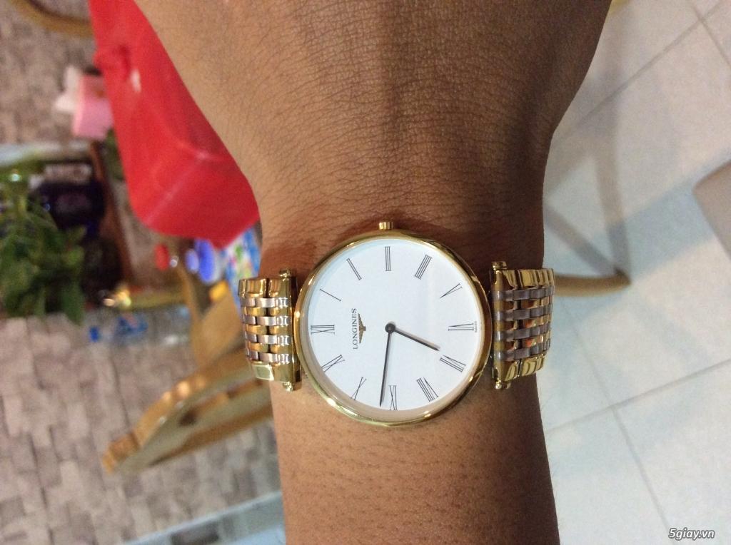 Đồng hồ NAM chính hãng LONGINES siêu mỏng mới 95%