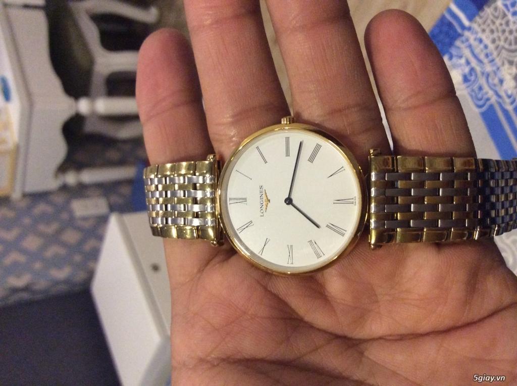 Đồng hồ NAM chính hãng LONGINES siêu mỏng mới 95% - 2