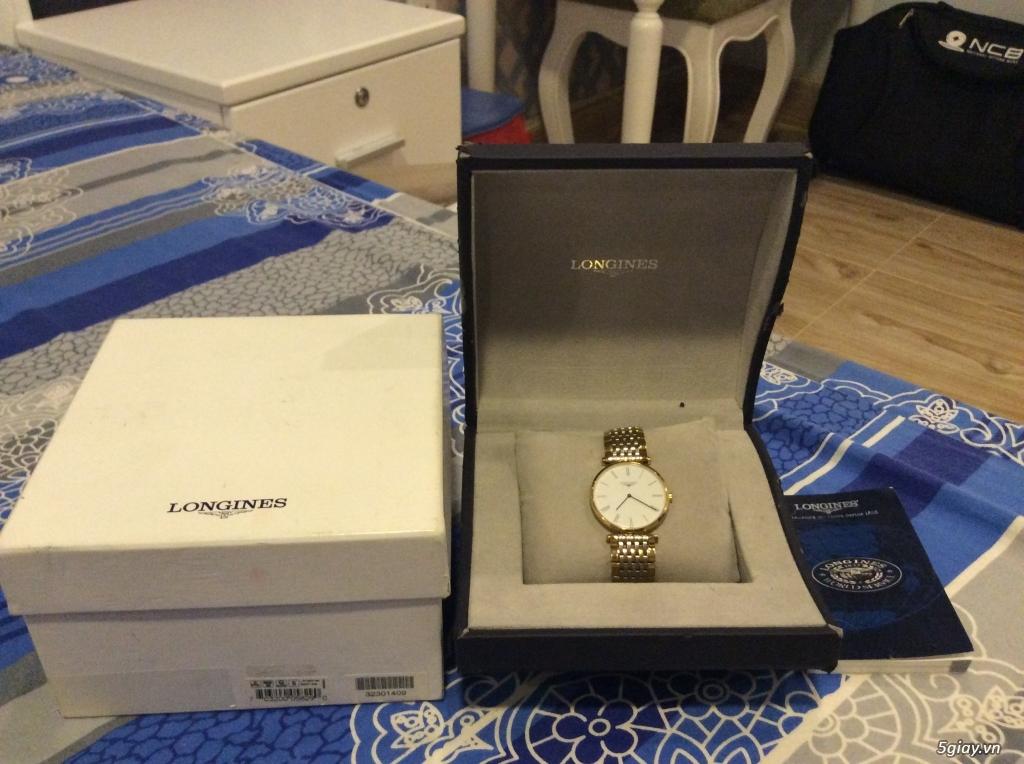 Đồng hồ NAM chính hãng LONGINES siêu mỏng mới 95% - 1
