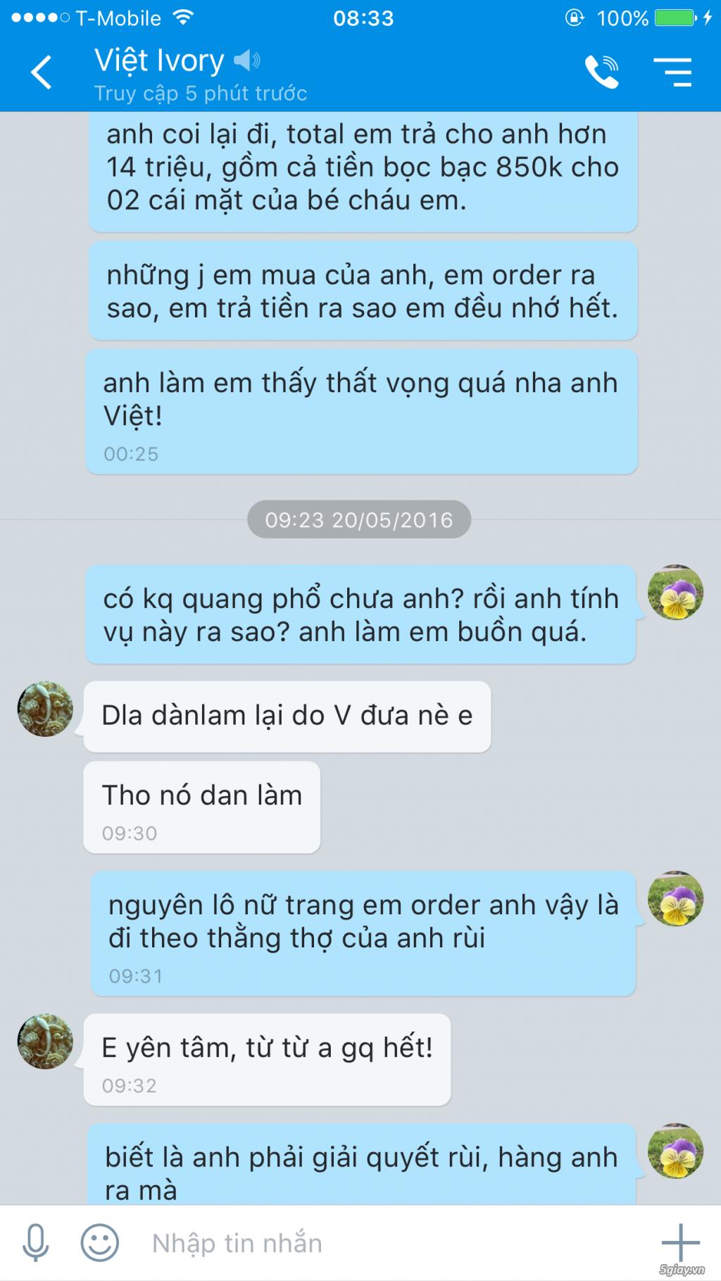 Việt Ivory lừa đảo, mọi người cảnh giác! - 3