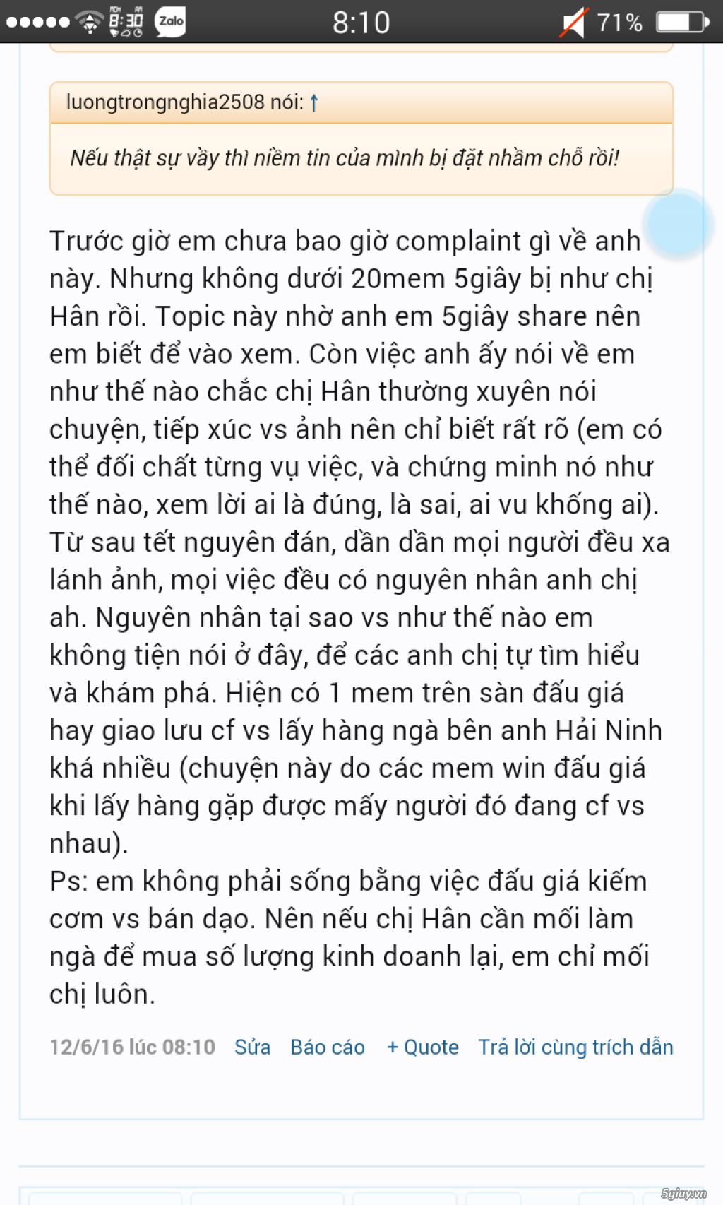 Việt Ivory lừa đảo, mọi người cảnh giác!