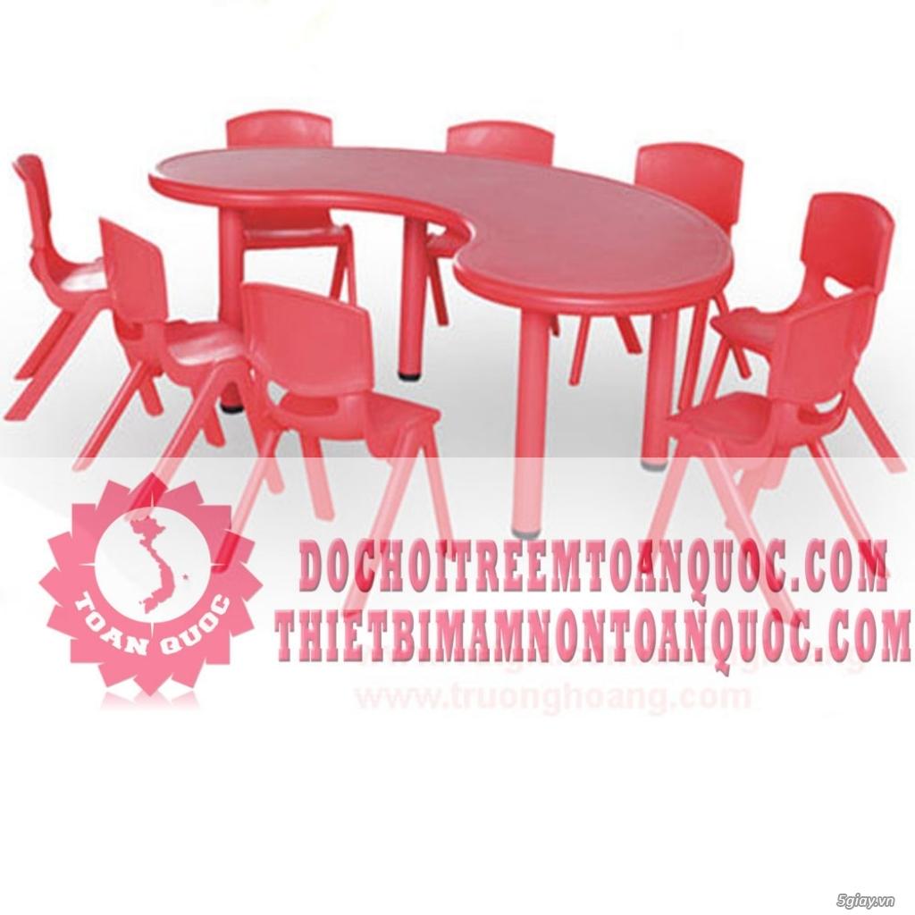 Bàn ghế mầm non, bàn ghế nhà trẻ - 6
