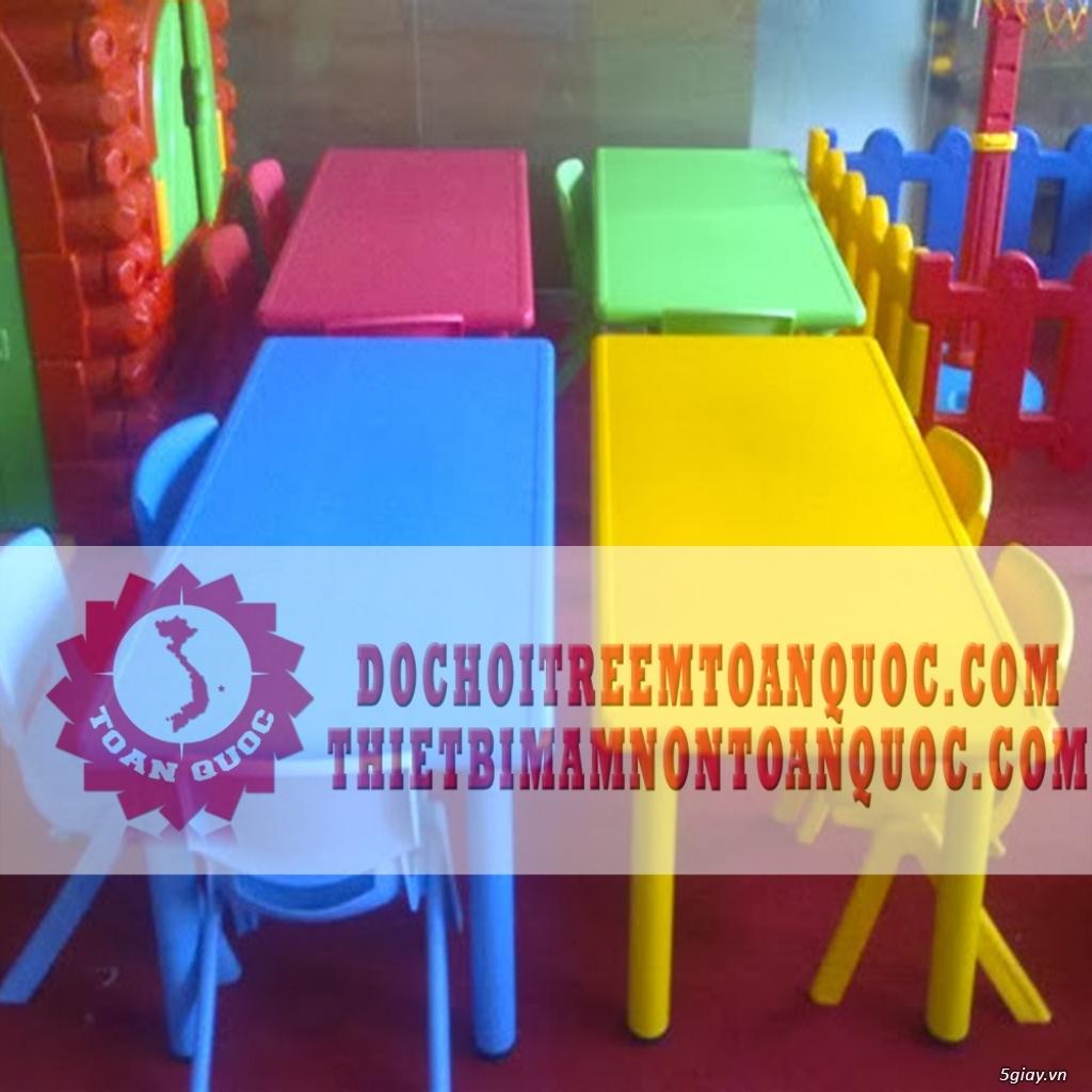 Bàn ghế mầm non, bàn ghế nhà trẻ - 8