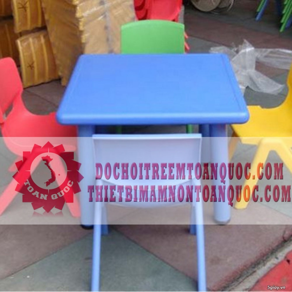 Bàn ghế mầm non, bàn ghế nhà trẻ - 7