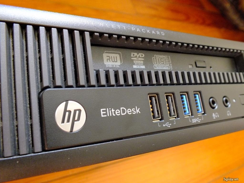 HCM Cần bán bộ máy HP EliteDesk 800 G1 Ultra Slim siêu đẹp