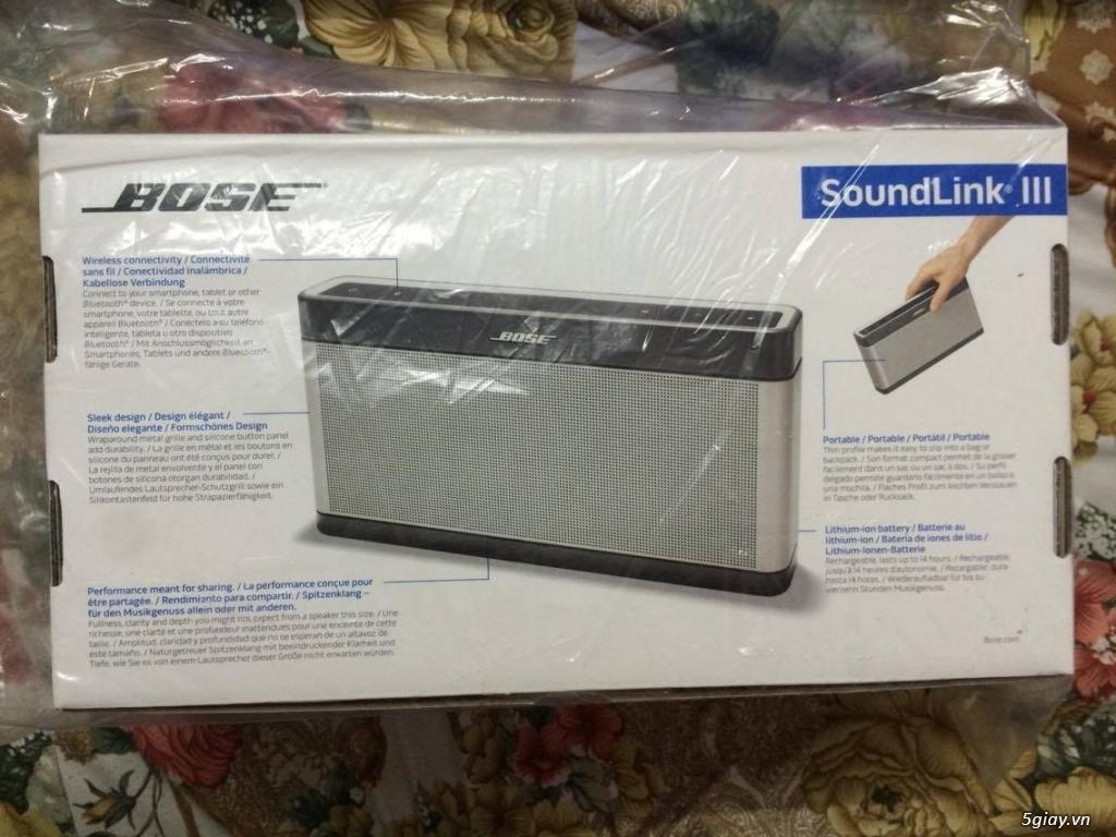 LOA BOSE SOUNDLINK MINI BLUETOOTH II fullbox giá tốt, BH 12 tháng chính hãng