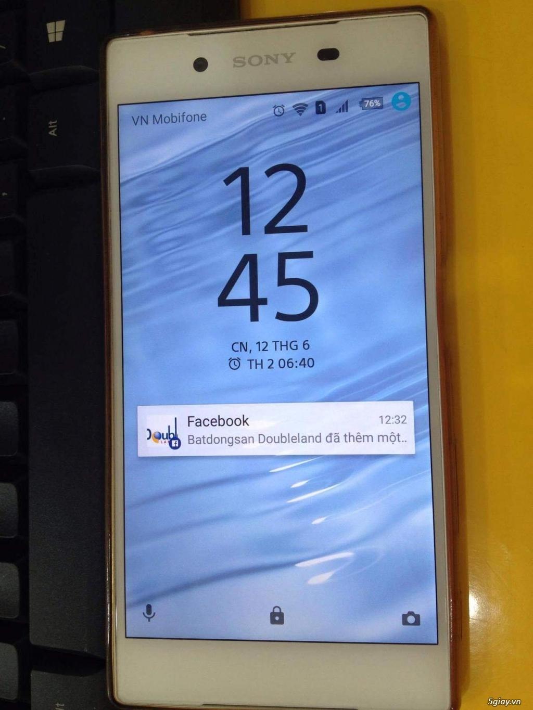 Tiễn em Sony Z5 Dual white(Trắng),Full box, BH hãng còn 9 tháng - 3