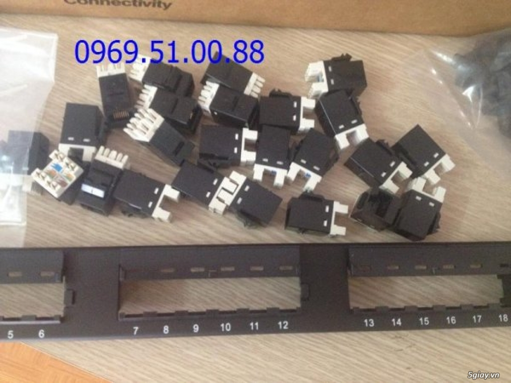 Dây nhảy patch cord,Dây nhảy mạng lan,Patch panel amp cat5e 24 port,patch panel 24 port cat6.
