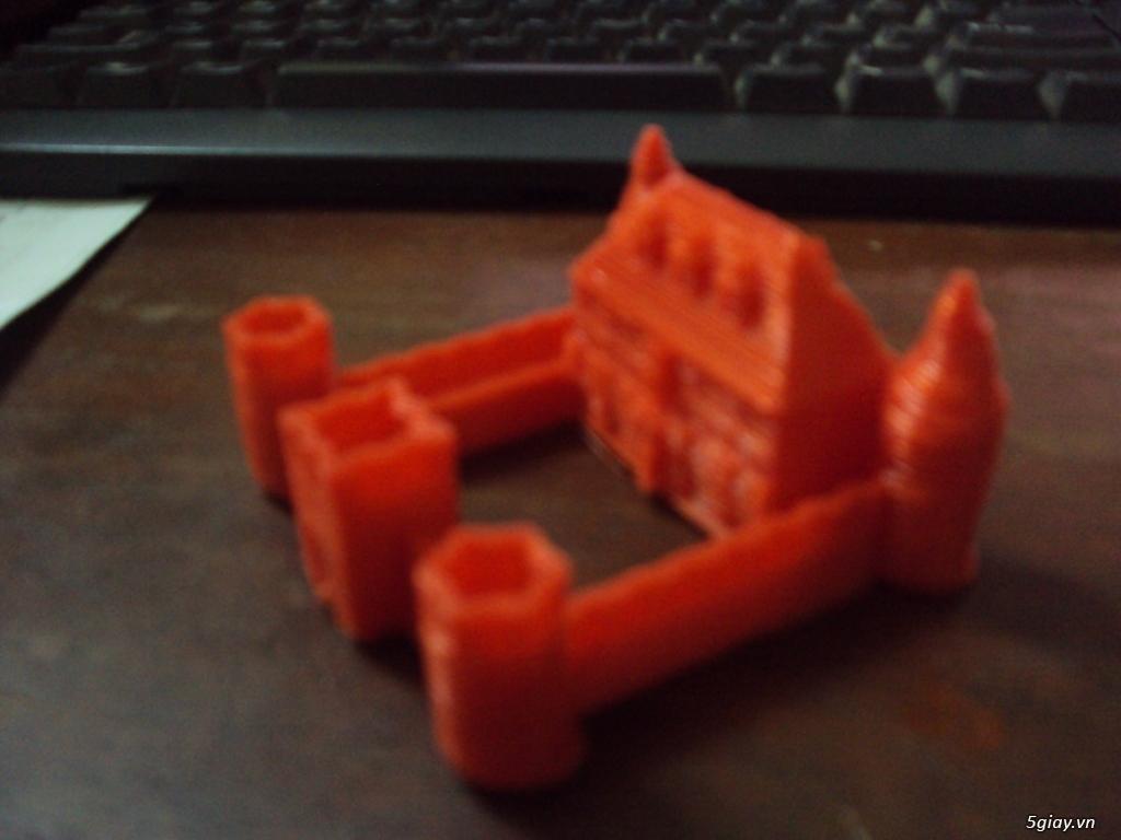 mô hình lâu đài in bằng công nghệ 3D - 2