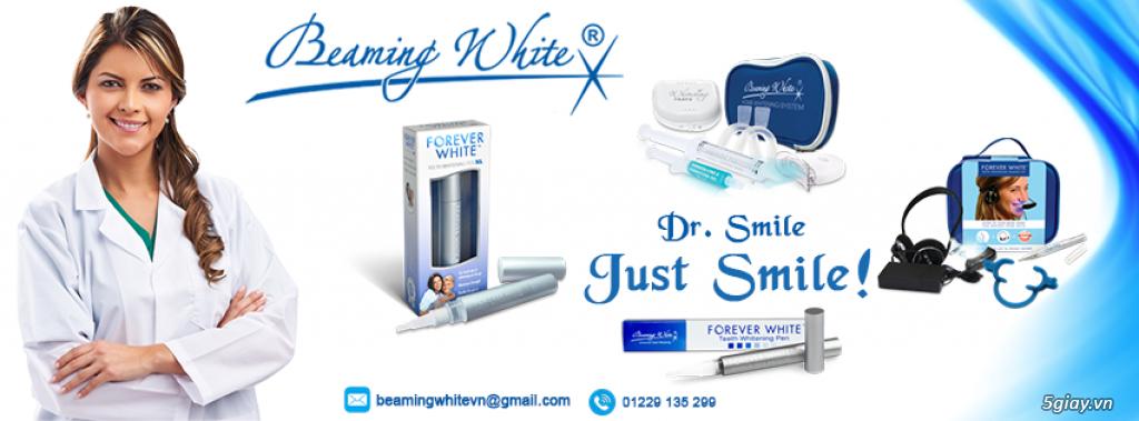 Beaming White - Tẩy trắng răng chuyên nghiệp của Mỹ