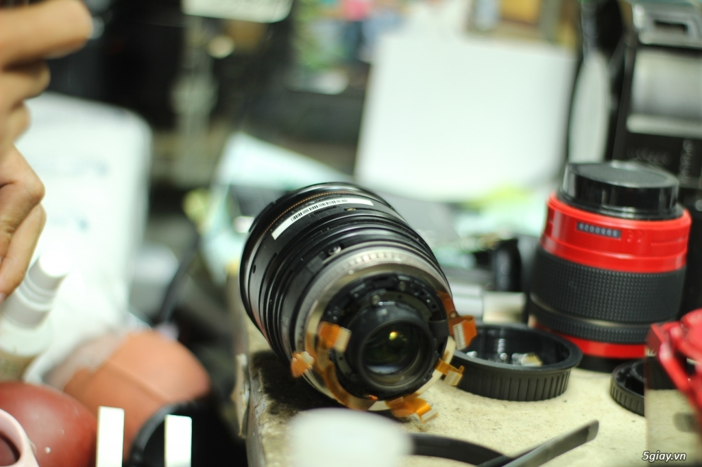 Bệnh Viện Máy Ảnh Việt Nam chuyên sửa máy ảnh dslr, máy ảnh du lịch, lens và máy quay phim - 7
