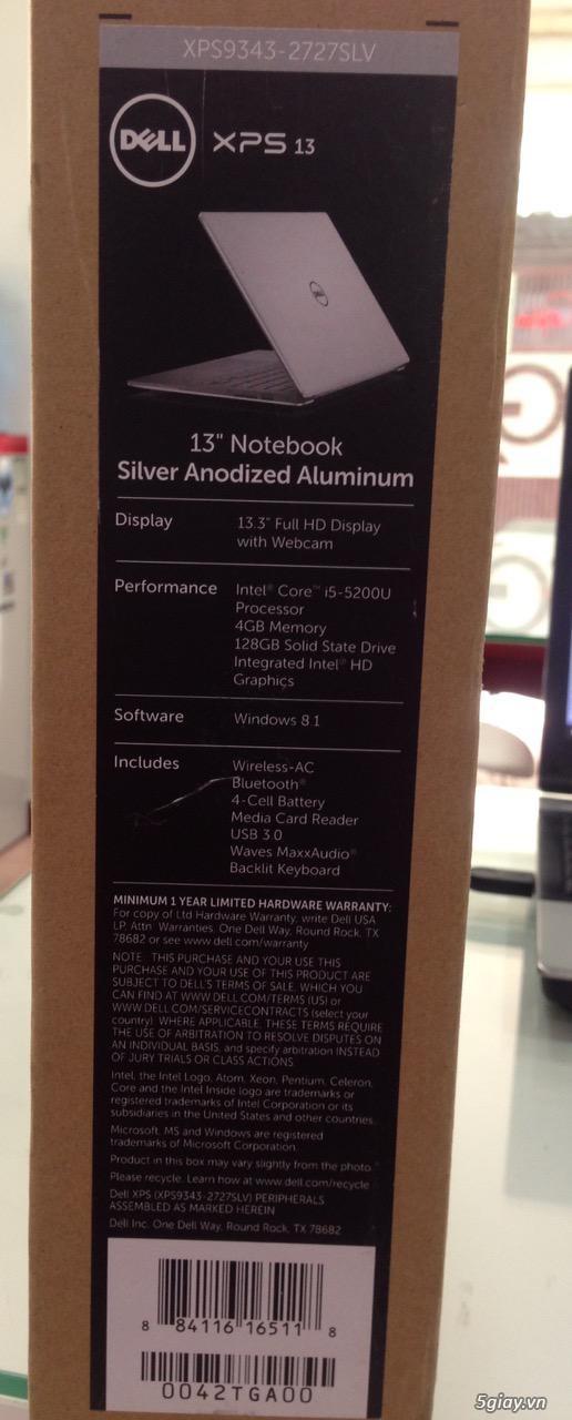 Dell XPS 13 9350, Dell alienware 17 core i7, Alienware 15 core i7 vga 980m 8GB - 2