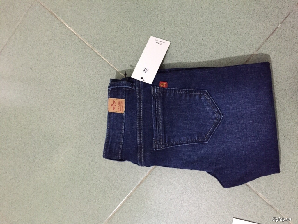 Q.P.T Jean Chuyên gia công, sản xuất , bỏ sỉ quần jean nữ , jean lửng nữ theo yêu cầu - 8