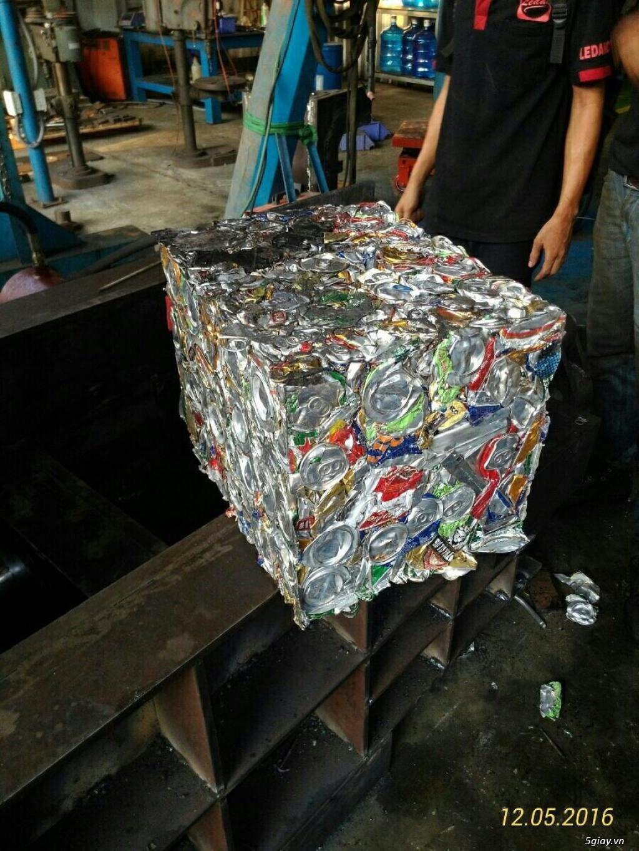 Máy ép phế liệu - Máy ép giấy vụn giá tốt