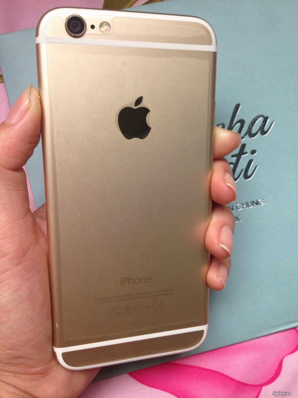 Iphone 6 Gold 16 gb, Lock Nhật - 3