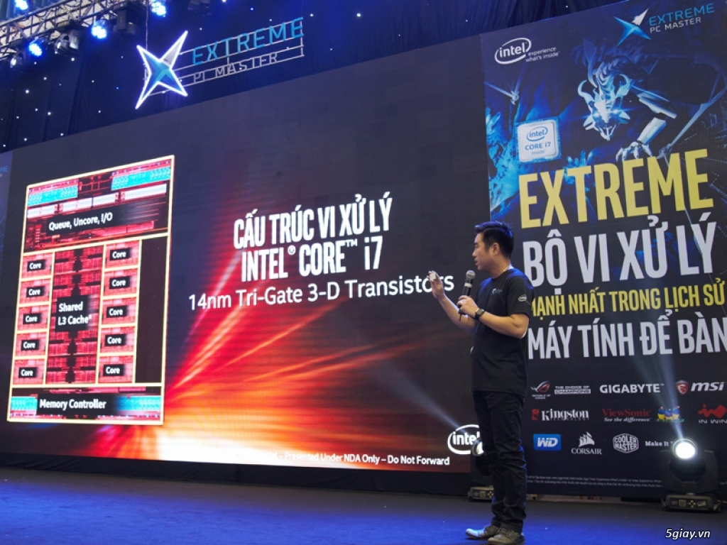 Intel ra mắt bộ xử lý Intel Core I7 Extreme Edition tại Việt Nam
