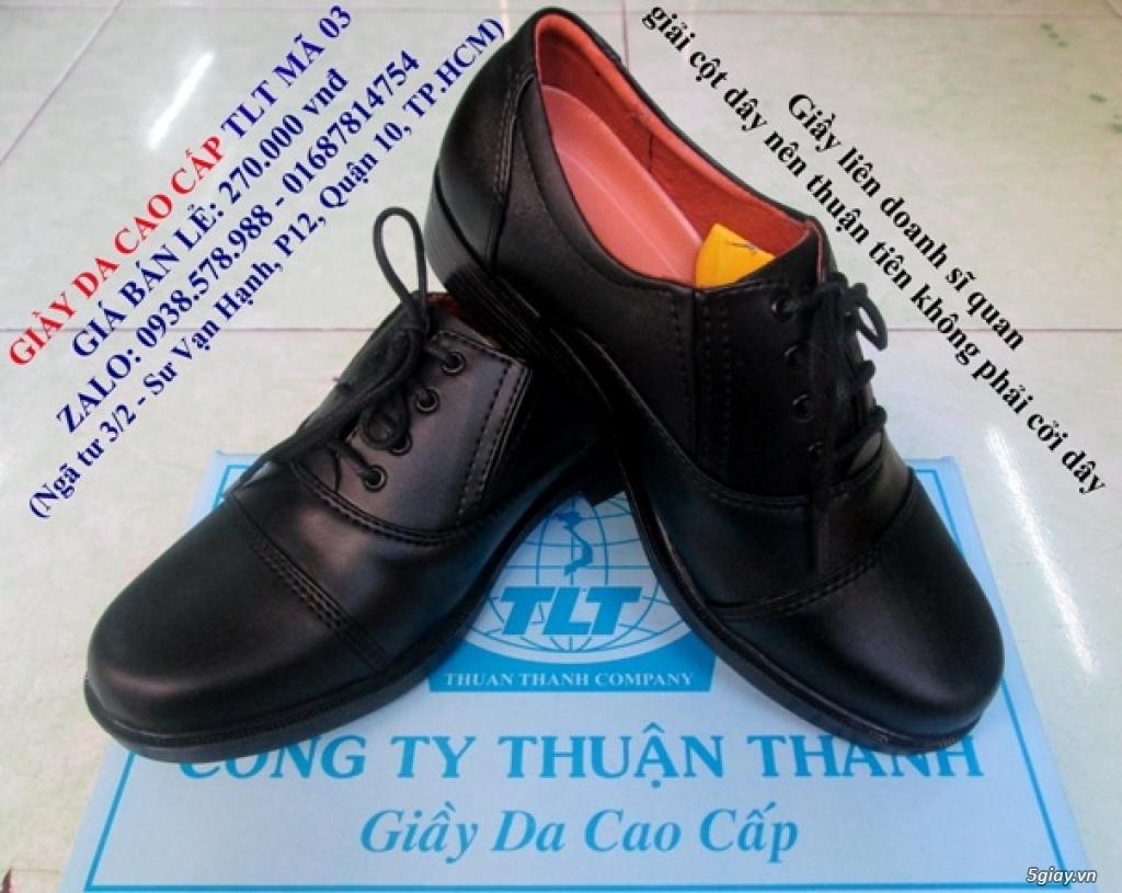 giầy da cao câp TLT, nón bảo hiểm công an, giầy công an (giá hấp dẫn nhất) - 24