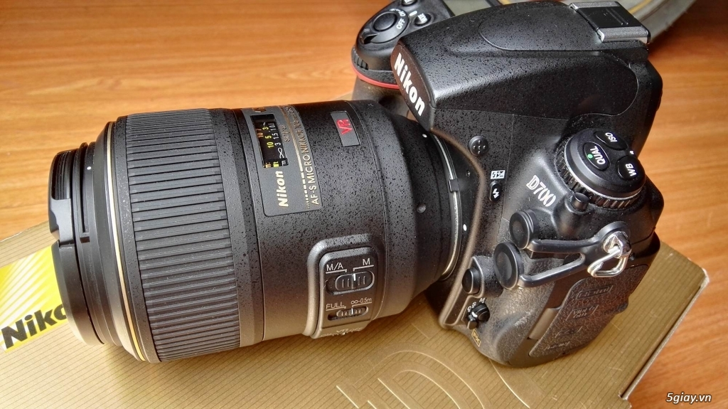 Body Nikon D700 + Lens 105f2.8 macro  Nano - 4