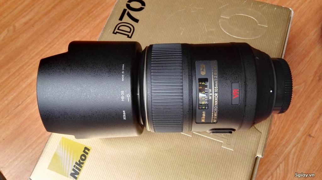 Body Nikon D700 + Lens 105f2.8 macro  Nano - 5