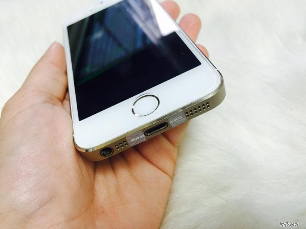 Thanh lí iPhone 5s 16Gb dùng kĩ nguyên zin còn bảo hành - 2