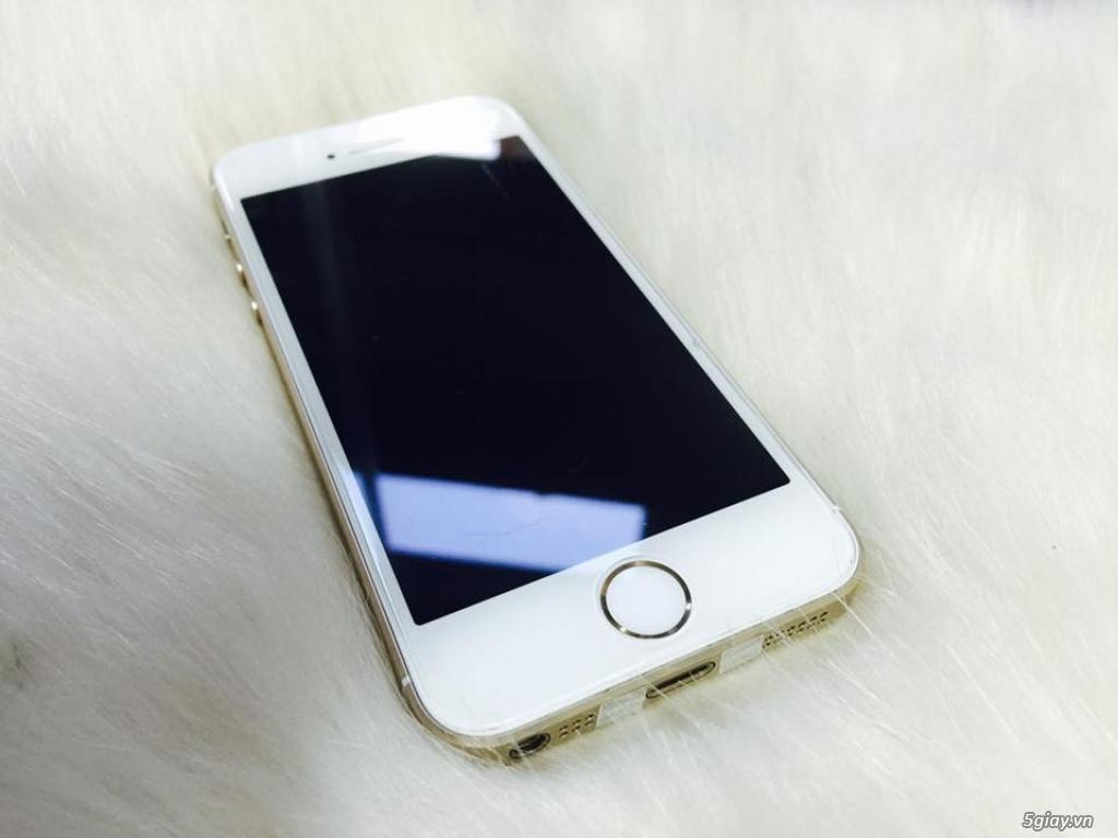 Thanh lí iPhone 5s 16Gb dùng kĩ nguyên zin còn bảo hành - 1