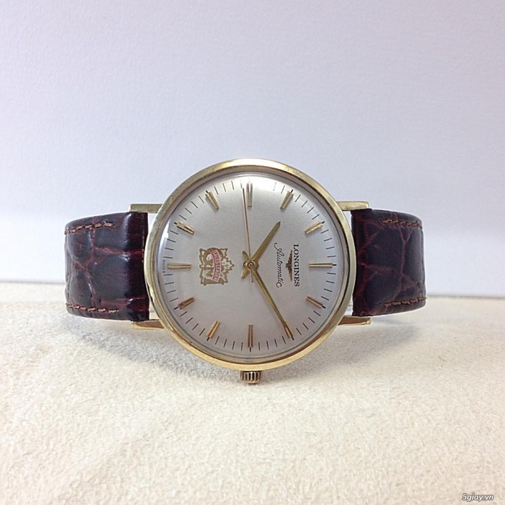 Đồng hồ cổ Longines automatic chính hãng - 3