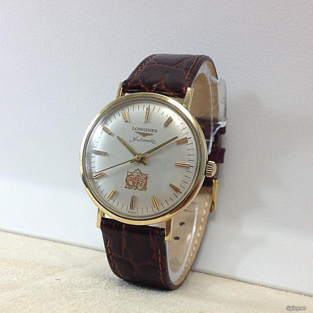 Đồng hồ cổ Longines automatic chính hãng - 1
