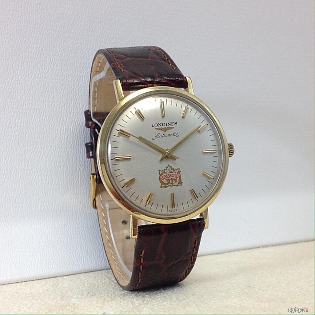 Đồng hồ cổ Longines automatic chính hãng - 2