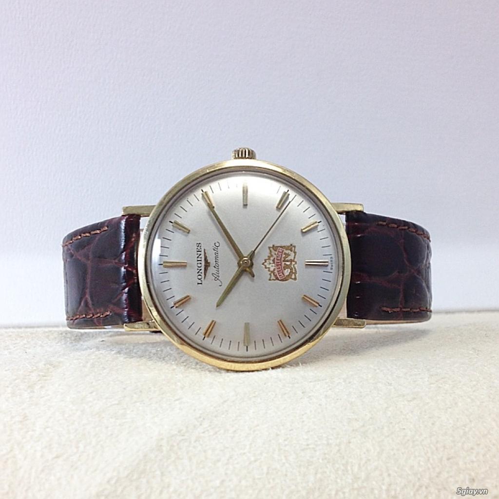Đồng hồ cổ Longines automatic chính hãng - 4