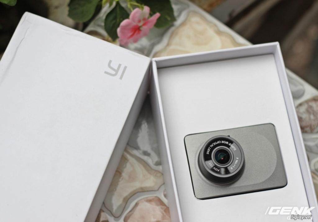 Trên tay camera hành trình Xiaomi Yi Car DVR: Phiên bản mới, chất lượng mới