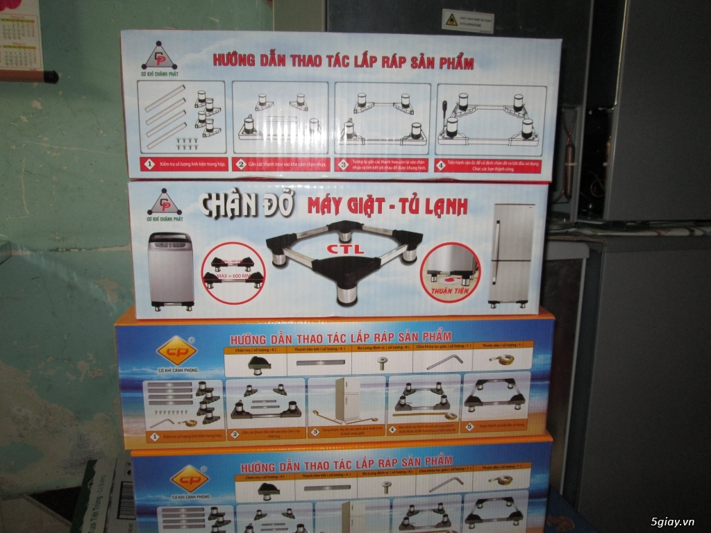 Chân máy giặt, tủ lạnh bằng nhựa giao hàng tận nơi - ĐT : 098.8800337 - 3