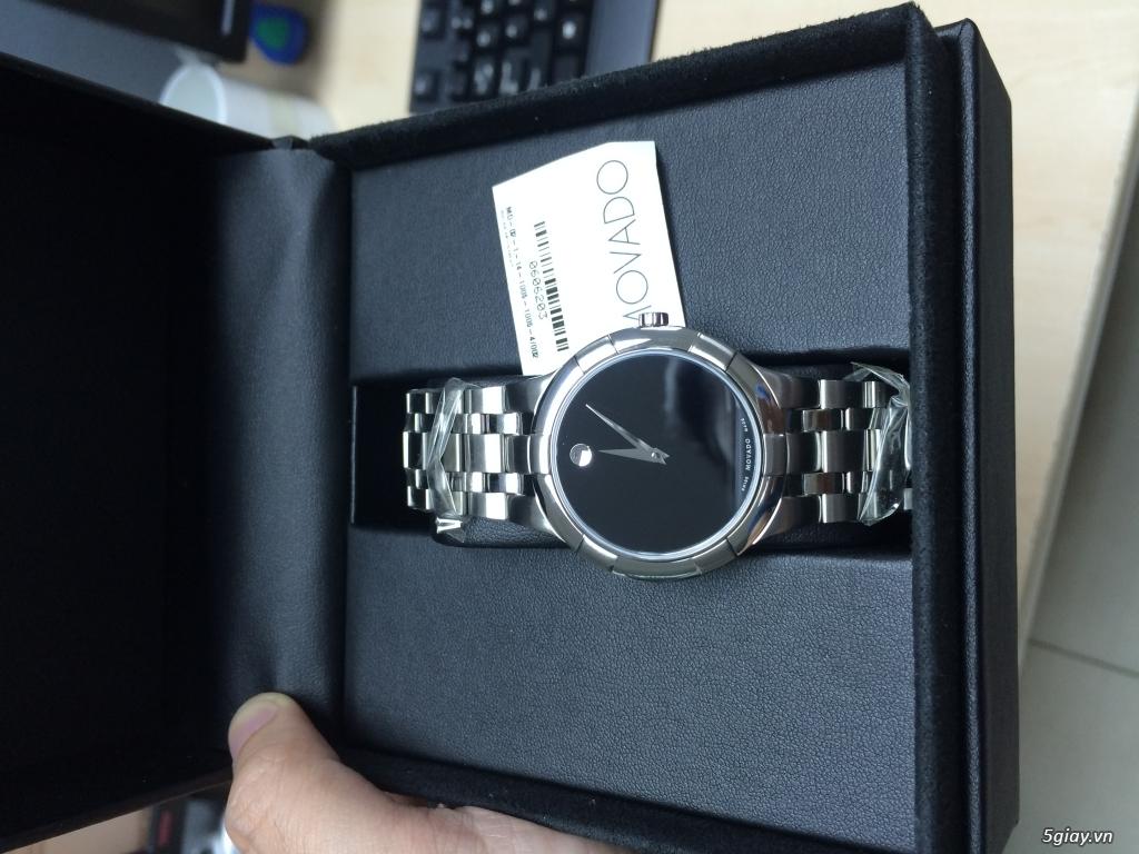 <Authentic> Đồng hồ mới 100% ship US: Movado, Seiko, Daniel Wellington, Victorinox...giá tốt - 3