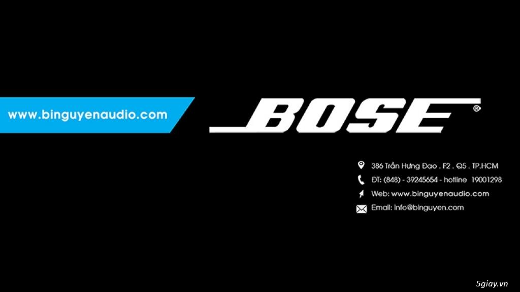 Bose Viet Nam- Đại lý phân phối Bose Viet Nam-www.binguyenaudio.com