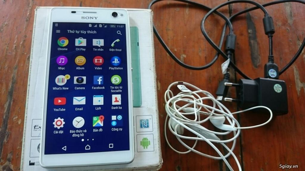 Sony C4 dual màu trắng công ty bh 6 tháng