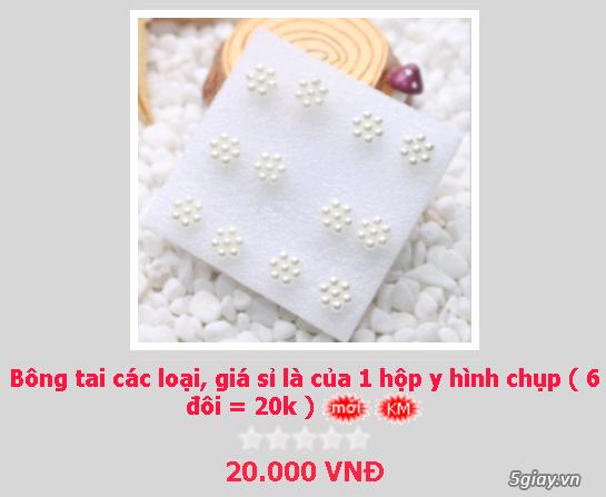 Zalo 0981662025. Bông tai giá sỉ chỉ từ 3k,4k/đôi tùy loại.Website bansisaigon.com - 19