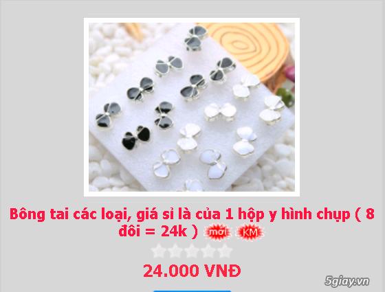 Zalo 0981662025. Bông tai giá sỉ chỉ từ 3k,4k/đôi tùy loại.Website bansisaigon.com - 27