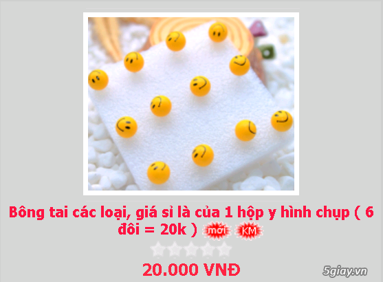 Zalo 0981662025. Bông tai giá sỉ chỉ từ 3k,4k/đôi tùy loại.Website bansisaigon.com - 15