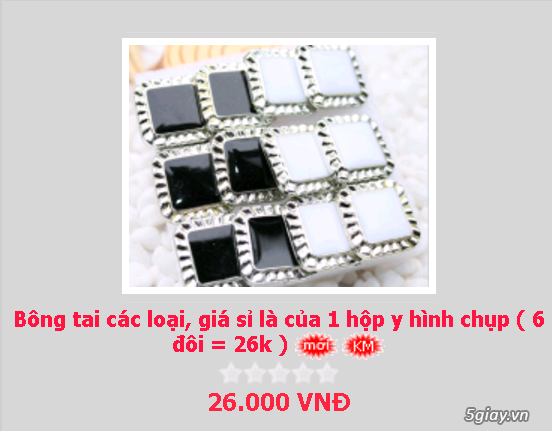Zalo 0981662025. Bông tai giá sỉ chỉ từ 3k,4k/đôi tùy loại.Website bansisaigon.com - 29