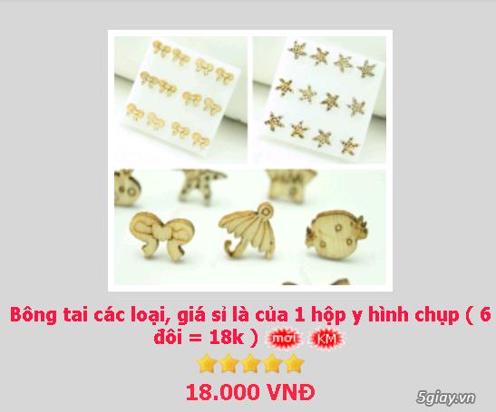 Zalo 0981662025. Bông tai giá sỉ chỉ từ 3k,4k/đôi tùy loại.Website bansisaigon.com - 17