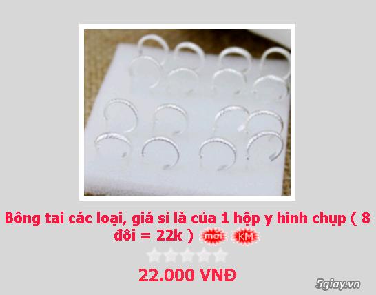 Zalo 0981662025. Bông tai giá sỉ chỉ từ 3k,4k/đôi tùy loại.Website bansisaigon.com - 20
