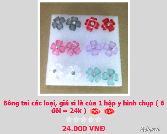 Zalo 0981662025. Bông tai giá sỉ chỉ từ 3k,4k/đôi tùy loại.Website bansisaigon.com - 3