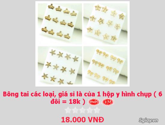 Zalo 0981662025. Bông tai giá sỉ chỉ từ 3k,4k/đôi tùy loại.Website bansisaigon.com - 23