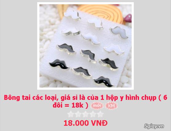 Zalo 0981662025. Bông tai giá sỉ chỉ từ 3k,4k/đôi tùy loại.Website bansisaigon.com - 25