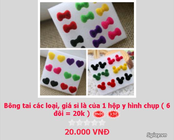 Zalo 0981662025. Bông tai giá sỉ chỉ từ 3k,4k/đôi tùy loại.Website bansisaigon.com - 14