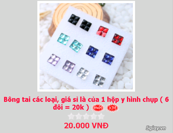 Zalo 0981662025. Bông tai giá sỉ chỉ từ 3k,4k/đôi tùy loại.Website bansisaigon.com - 7