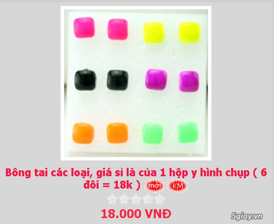 Zalo 0981662025. Bông tai giá sỉ chỉ từ 3k,4k/đôi tùy loại.Website bansisaigon.com - 12
