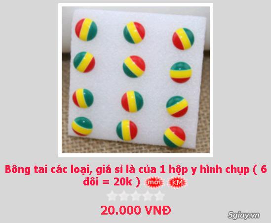 Zalo 0981662025. Bông tai giá sỉ chỉ từ 3k,4k/đôi tùy loại.Website bansisaigon.com - 28